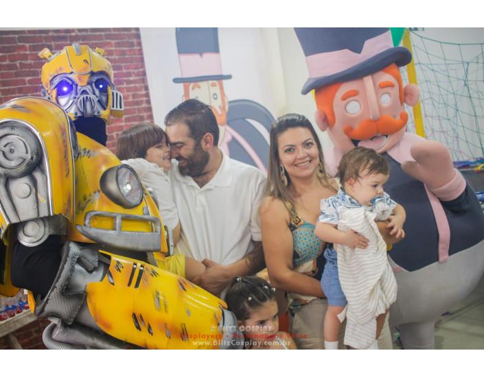 Bumblebee personagem vivo Transformers