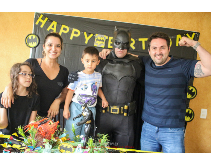 Batman personagem vivo para festas e eventos