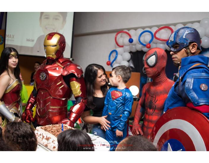 Os Vingadores Personagens vivos