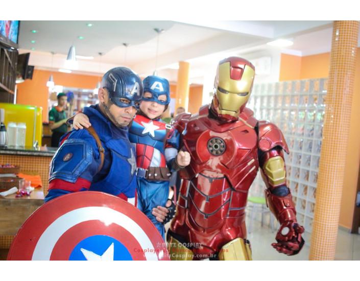 Capitão America personagem para festas