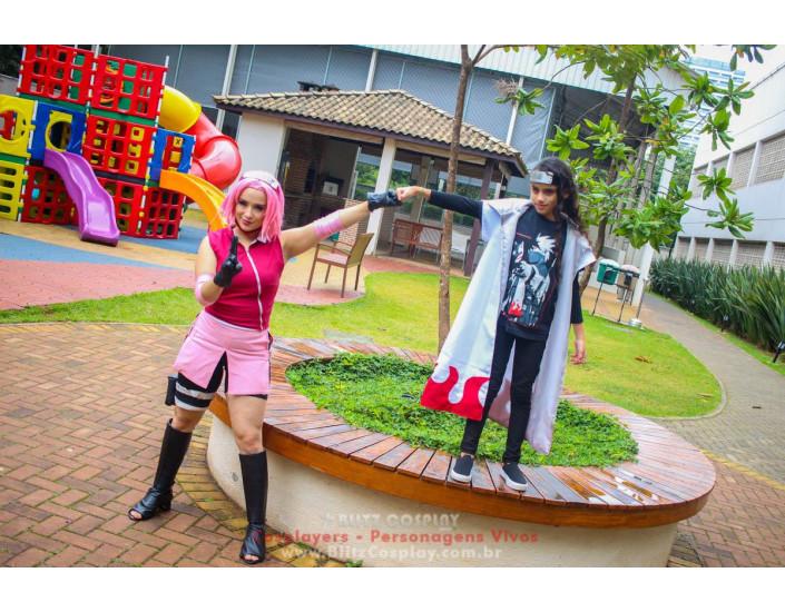 Sakura Personagem Vivo Para Festas e Eventos.
