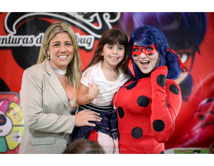 Personagens Vivos Ladybug Para Aniversários