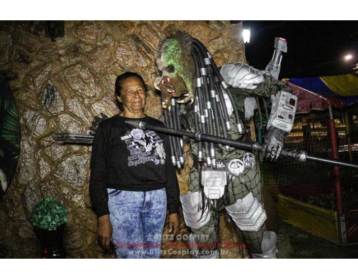 Predador Personagens Vivos Para Festas e Eventos.