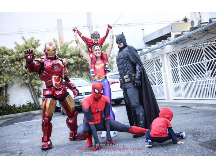 Heróis Betina Personagens Vivos Para Festas e Eventos.