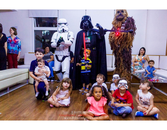 Star Wars Personagens Vivos Para Festas.