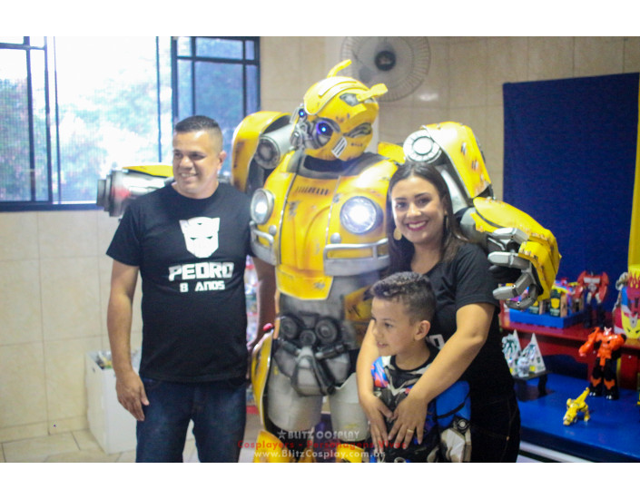 Transformers personagem vivo Bumblebee