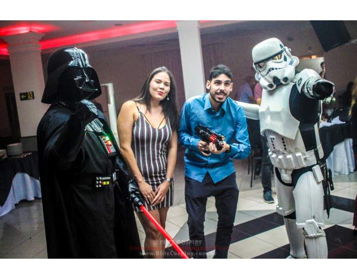 Star Wars Personagem Vivo Para Festas