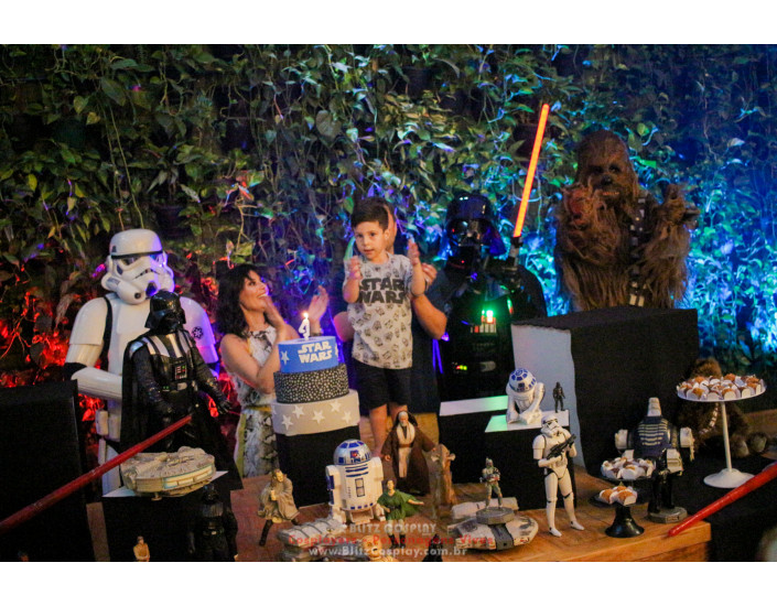 Darth Vader personagens vivos para festas