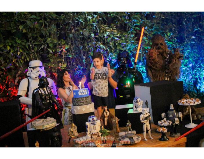 Darth Vader personagens vivos para festas