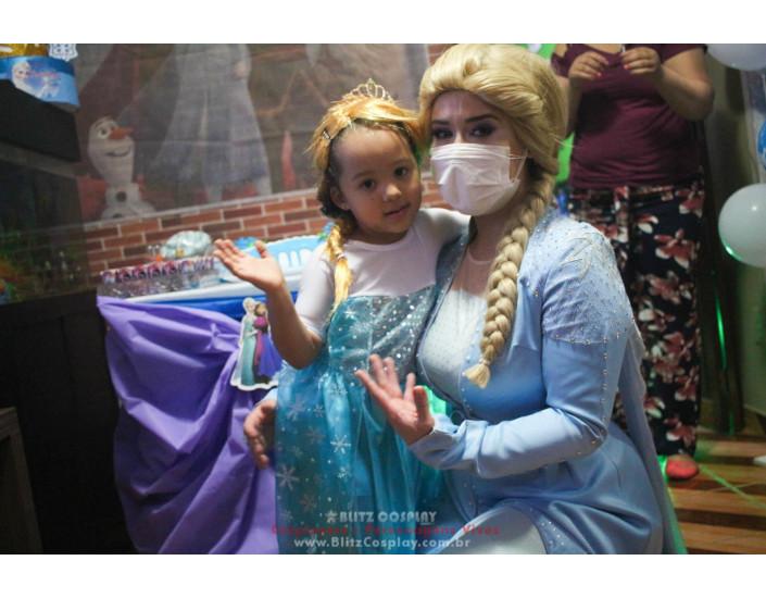 Elsa Personagem Vivo Para Festas e Eventos.