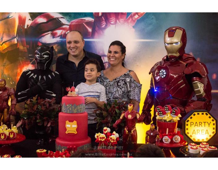 Pantera Homem de Ferro Personagem Vivo .