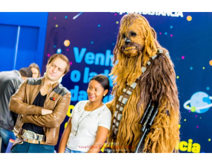 Chewbacca personagem vivo para eventos