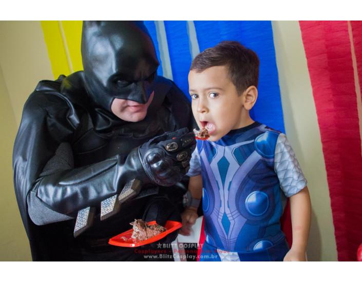 Batman personagem vivo para festas e aniversários