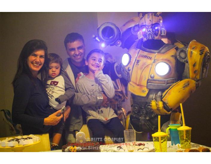Bumblebee Personagem Vivo Para Festas e Eventos.