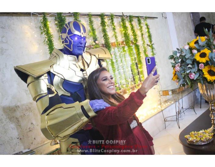 Thanos Personagem Vivo Para Festas e Eventos.