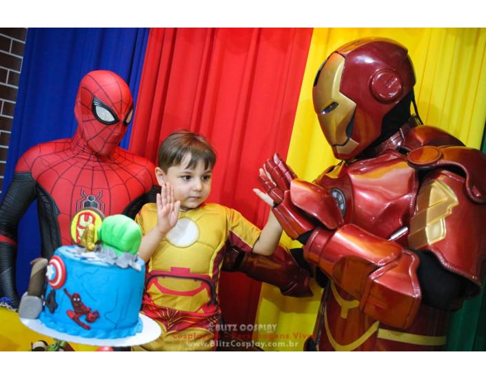 HeróisPersonagens Vivos Para Festas e Eventos.