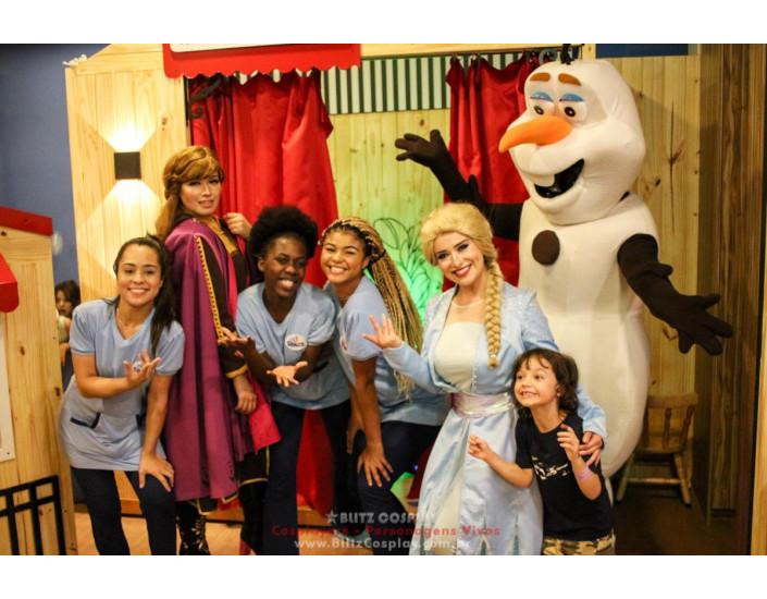 Frozen Personagens Vivos Para Festas.