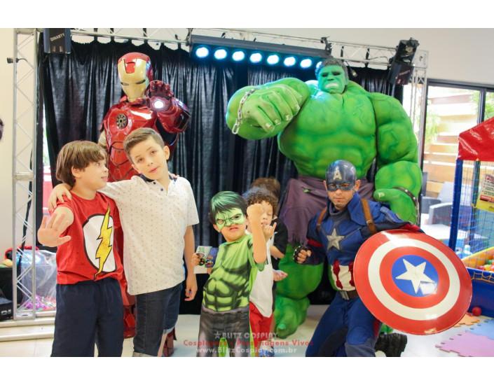 Homem de Ferro Personagens vivos Para Festas.