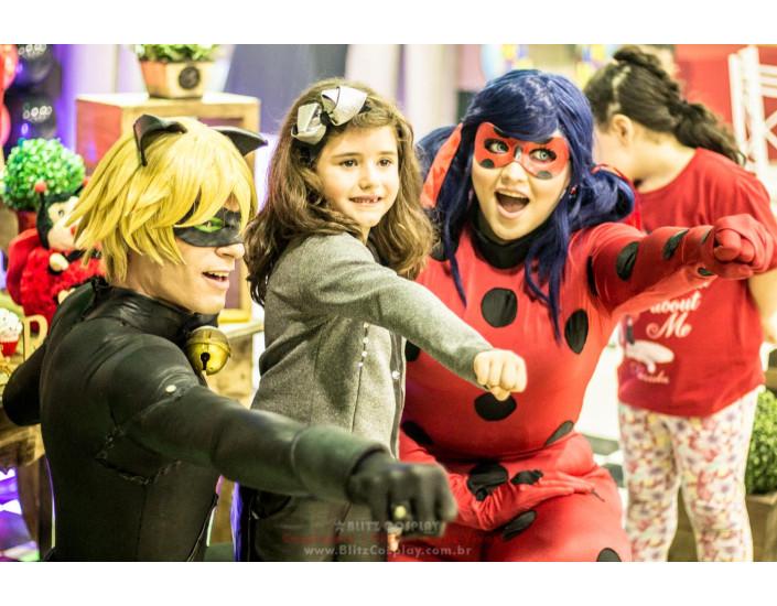 Ladybug Personagem Vivo Para Festas.