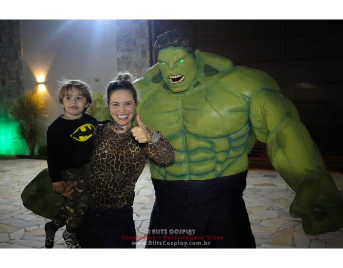 Hulk Personagem Vivo Para Festas e Eventos.