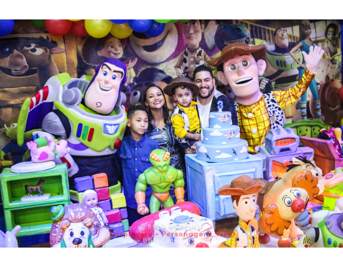 Toy Story Personagens Vivos Para Festas.