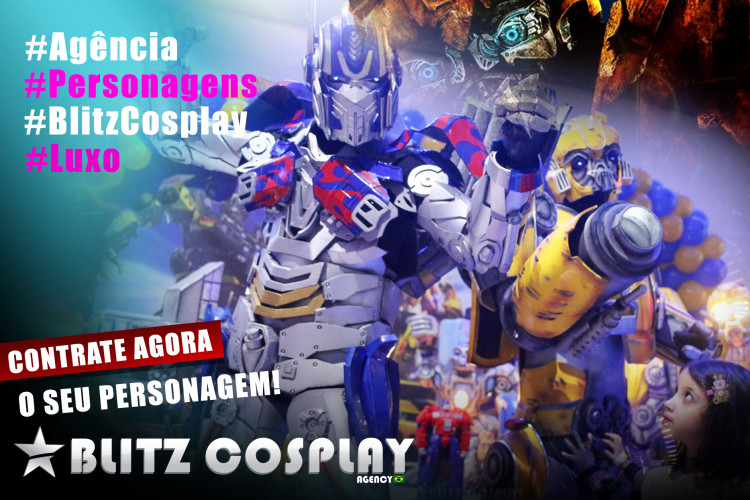 Contratar Optimus Prime Personagem Vivo